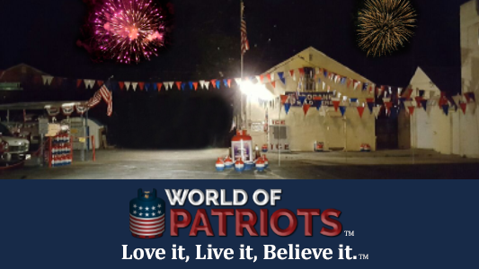 World of Patriots - Love it.  Believe it.  Live it.